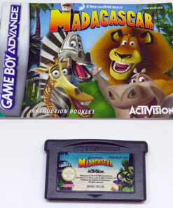 Madagascar GAME BOY ADVANCE