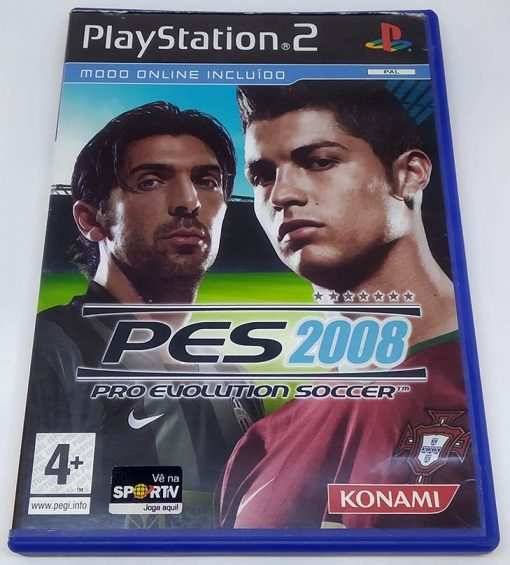 Pro Evolution Soccer 2008 PS2