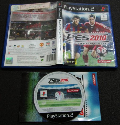 Pro Evolution Soccer 2010 PS2