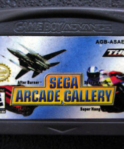 Sega Arcade Gallery GAME BOY ADVANCE