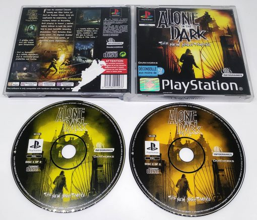 Alone in the Dark: The New Nightmare PS1