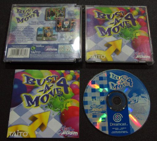 Bust-A-Move 4 DREAMCAST