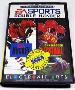 EA Sports Double Header: John Madden Football & EA Hockey MEGA DRIVE