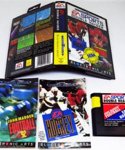 EA Sports Double Header: John Madden Football & EA Hockey MEGA DRIVE