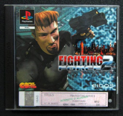 Fighting Force 2 PS1