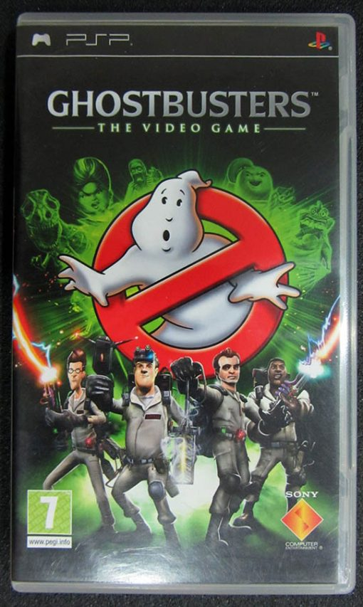 Ghostbusters: The Video Game PSP