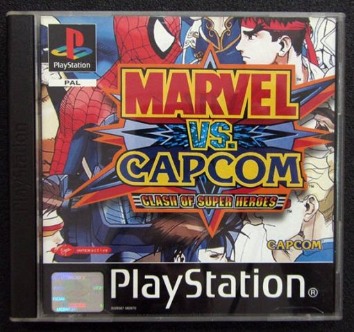 Marvel vs Capcom: Clash of Super Heroes PS1