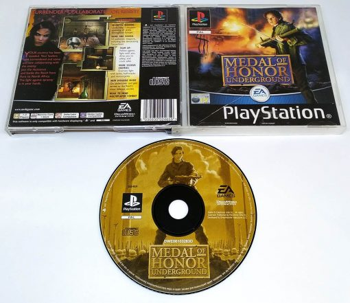 Medal of Honor: Underground PS1