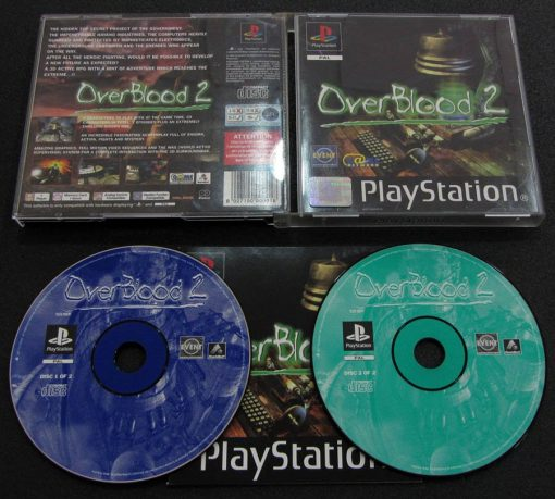Overblood 2 PS1