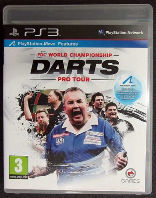 PDC World Championship Darts Pro Tour PS3