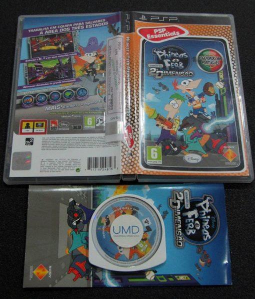 Phineas e Ferb: Através da 2ª Dimensão PSP