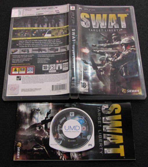 SWAT: Target Liberty PSP