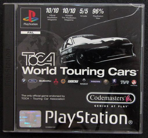 Toca World Touring Cars PS1