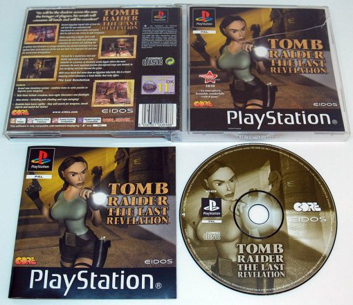 Tomb Raider: The Last Revelation PS1