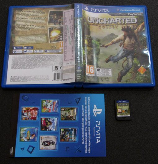 Uncharted: Golden Abyss PSVITA