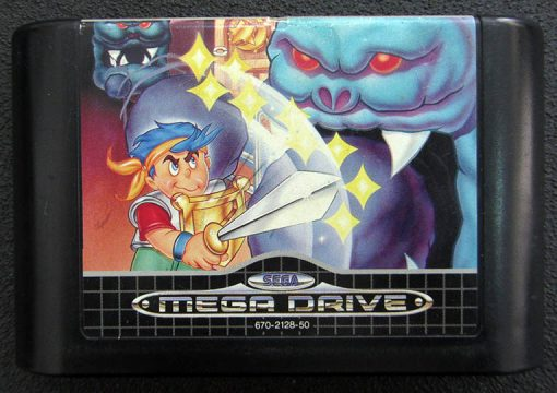 Wonder Boy in Monster World MEGA DRIVE