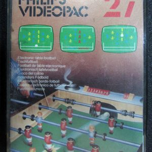 27 - Electronic Table Football VIDEOPAC