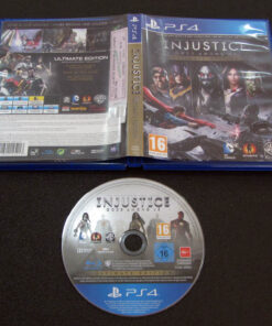 Injustice: Gods Among Us - Ultimate Edition PS4
