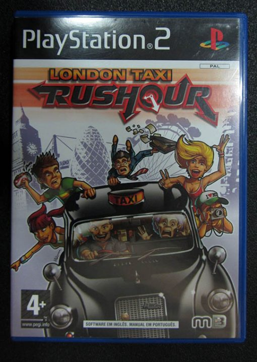 London Taxi Rushour PS2