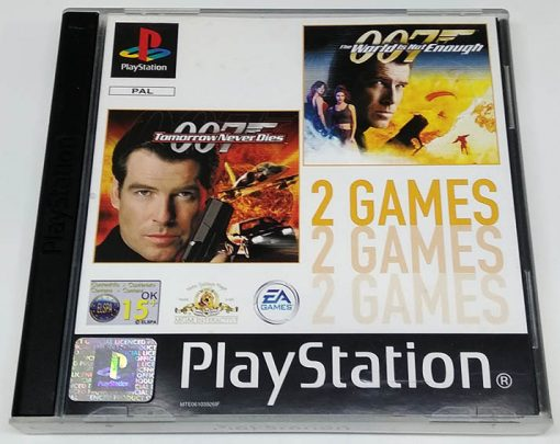 007: Tomorrow Never Dies + 007: The World is not Enough Pack PS1