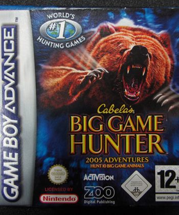 Cabela's Big Game Hunter GAME BOY ADVANCE