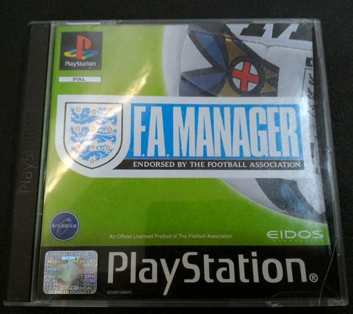 F.A. Manager PS1