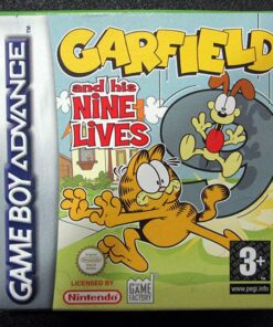 Garfield and his Nine Lives GAME BOY ADVANCE