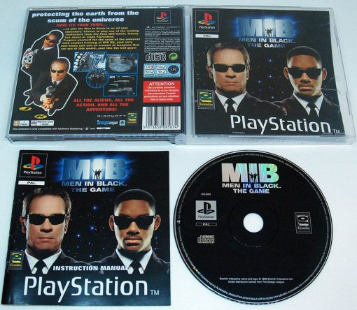Men in Black - The Game PS1