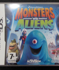 Monsters vs Aliens NDS
