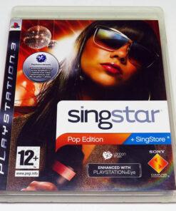 Singstar: Pop Edition PS3