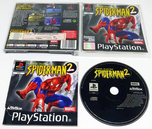 Spider-Man 2: Enter Electro PS1