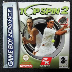 Top Spin 2 GAME BOY ADVANCE