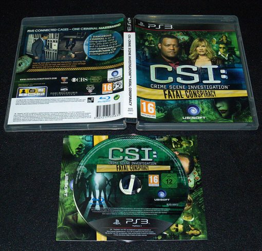 CSI: Fatal Conspiracy PS3