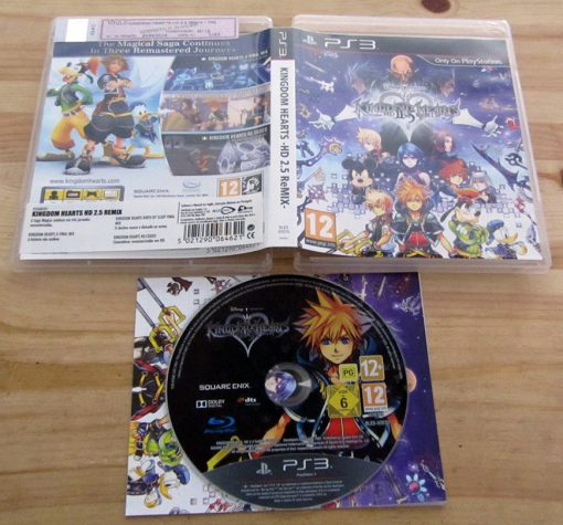 Kingdom Hearts HD 2.5 ReMIX PS3