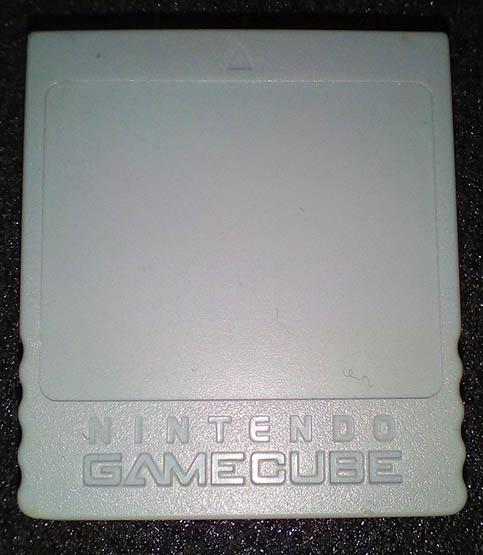 Acessório Usado Memory Card 59 Blocks GameCube