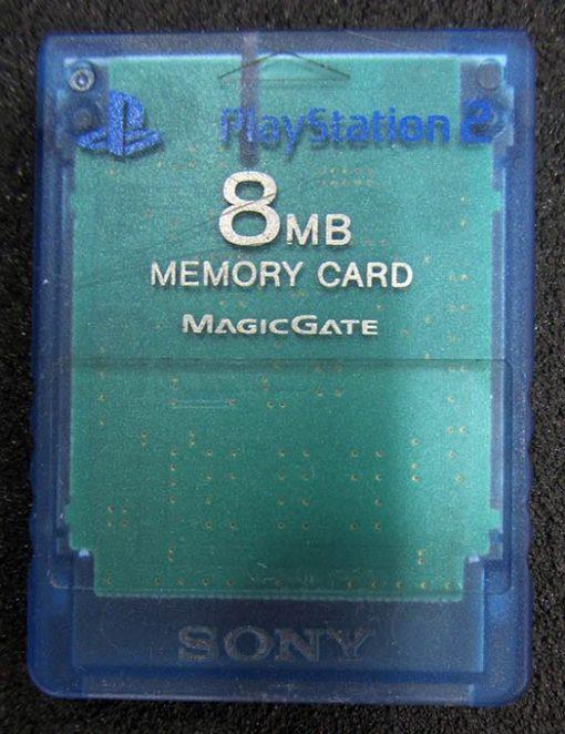 Acessório Usado Memory Card 8MB Azul Playstation 2