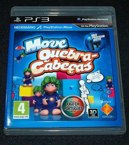 Move Quebra Cabeças PS3