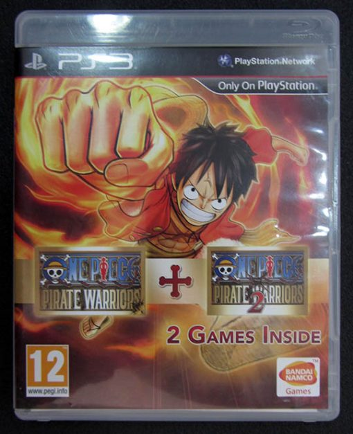 One Piece Pirate Warriors 1 + 2 PS3