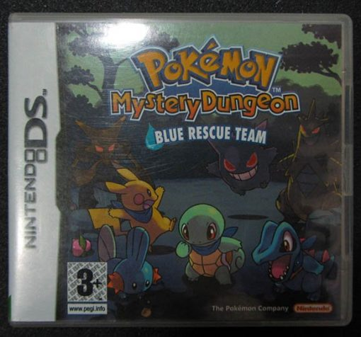 Pokémon Mystery Dungeon: Blue Rescue Team NDS