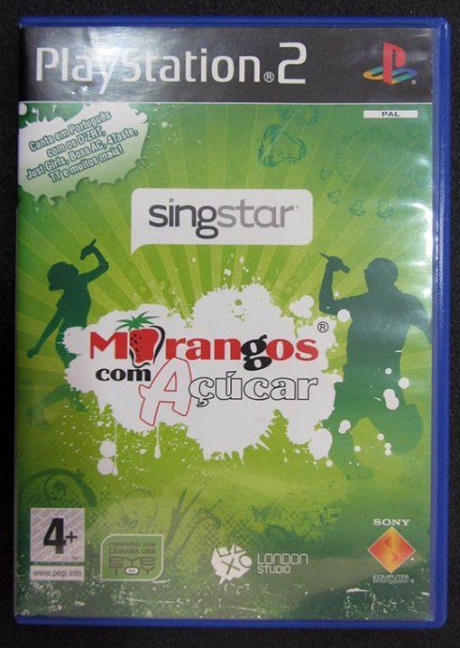 Singstar Morangos com Açúcar PS2
