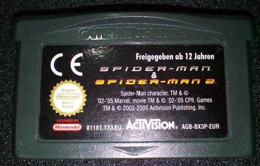 Spider-Man & Spider-Man 2 GAME BOY ADVANCE