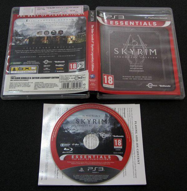 Elder Scrolls V: Skyrim - Legendary Edition PS3