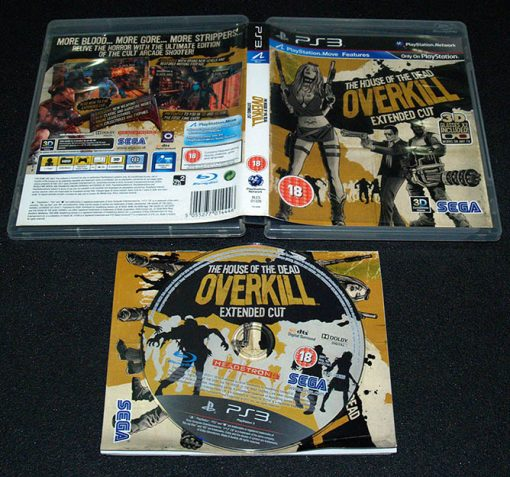 The House of the Dead: Overkill - Extended Cut PS3
