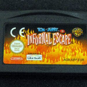 Tom & Jerry in Infurnal Escape GAME BOY ADVANCE