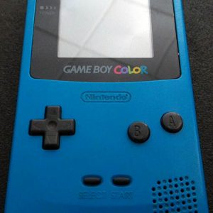Consola Usada Nintendo Game Boy Color - Azul/Turquesa