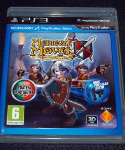 Medieval Moves no Castelo Fantasma PS3