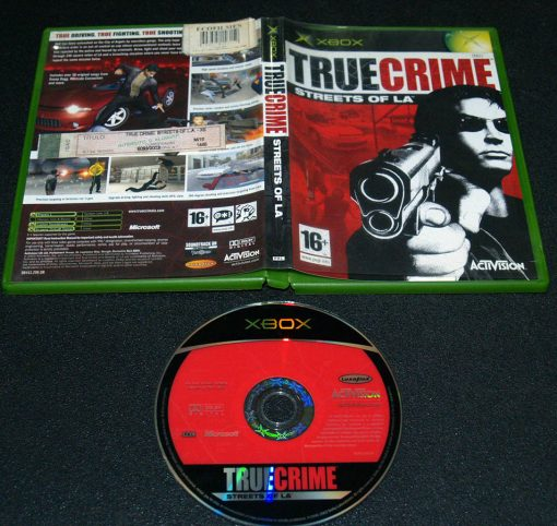 True Crime: Streets of L.A. XBOX