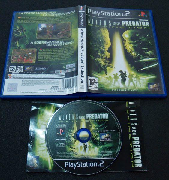 Aliens vs Predator: Extinction PS2