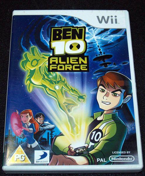 Ben 10 Alien Force WII