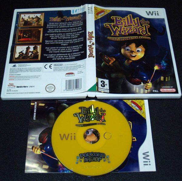 Billy The Wizard: Rocket Broomstick Racing WII